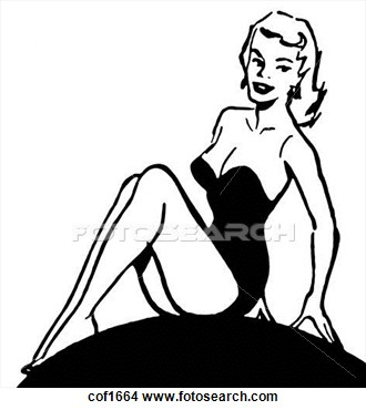 Pin Up  clipart #3