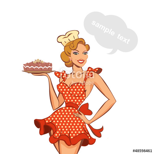 Pin Up  clipart vintage #11