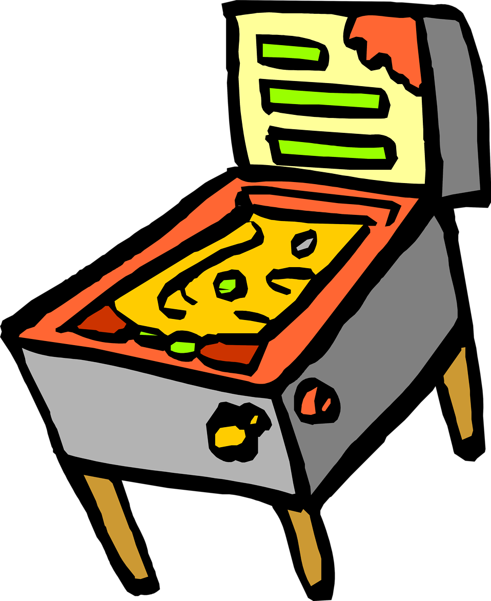 Pinball clipart arcade fun Pinball Clipart Clipart Panda Clipart