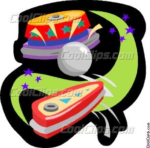 Pinball clipart Pinball Clip Vector pinball art