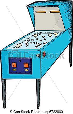 Pinball clipart And Art royalty Pinball Clip
