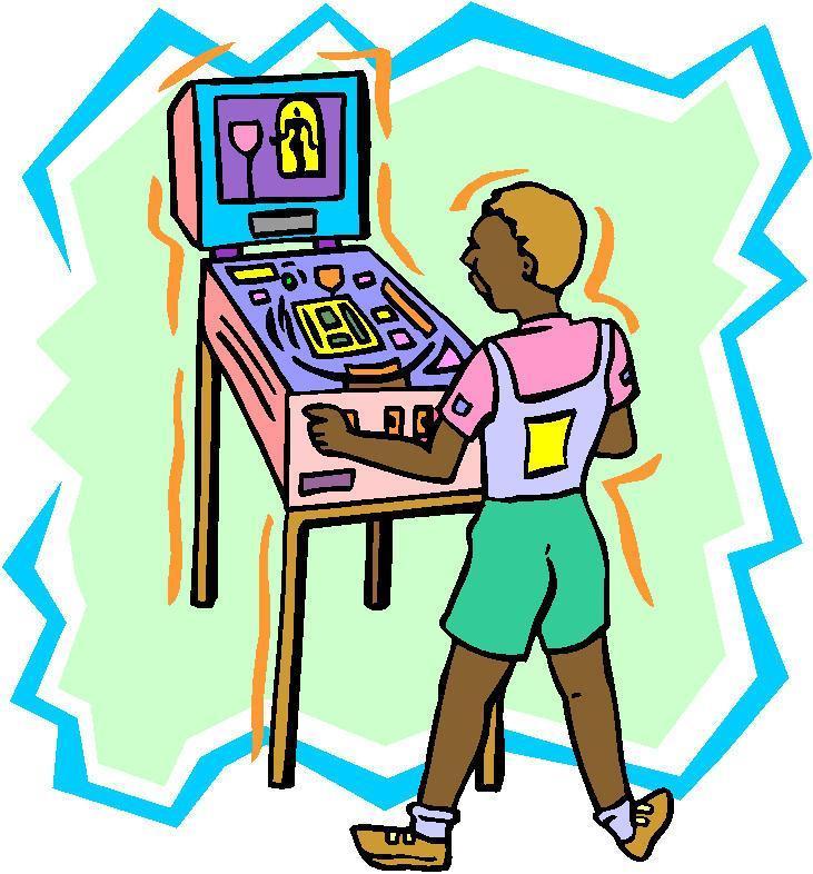 Pinball clipart Clip on Art Pin Pinball