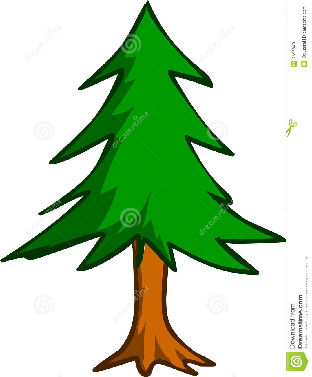 Pine clipart #12