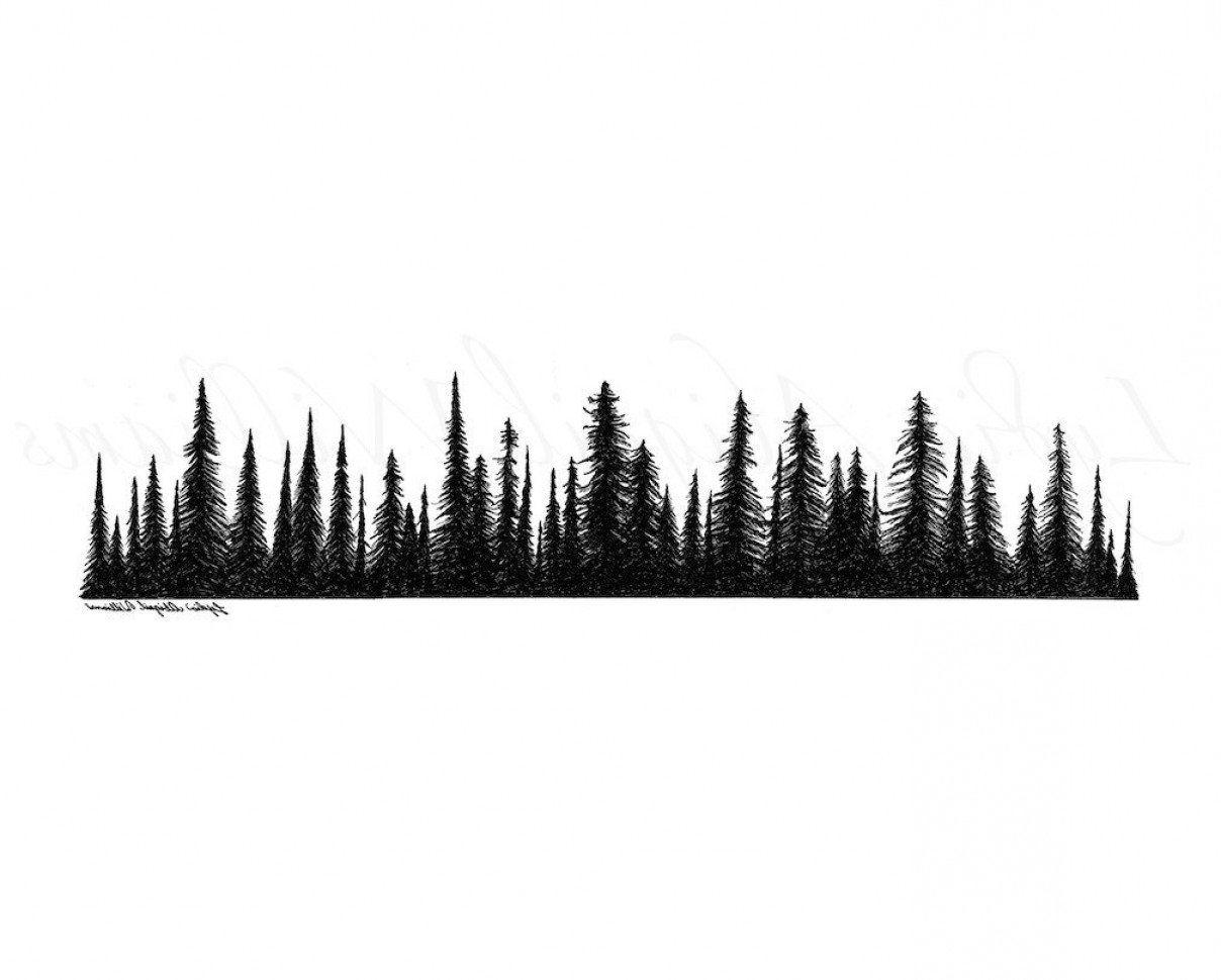 Pine clipart tree line Tree clipart collection Pine Tree