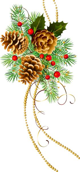 Pine clipart victorian christmas Pinterest Pin Clip on Best