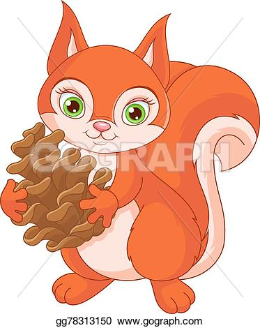 Pine Cone clipart cartoon Cone Vector gg78313150 Little