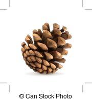 Pine Cone clipart vector Vector Pine cone Clip of