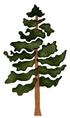 Pine Tree clipart Be 25+ silhouette Pinterest plain