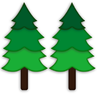 Pine Tree clipart On silhouette art Cliparting com