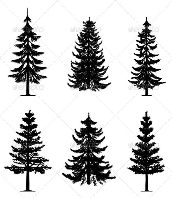 Pine Tree clipart dark forest Pinterest collection on tree Best