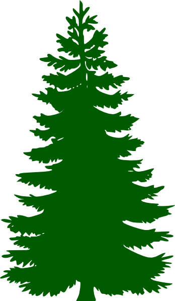 Pine Tree clipart fine Clker Download com Art online