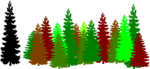 Wood clipart forrest Forest vector Clip Art Trees