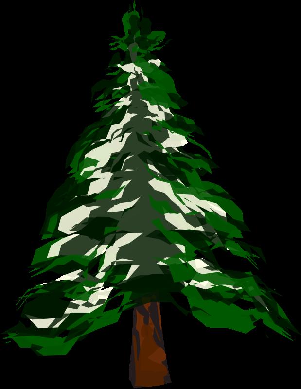Pine Tree clipart many tree Winter Free Pine Trees ·