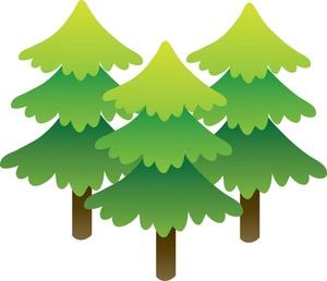 Pine Tree clipart many tree Art clip pine tree for