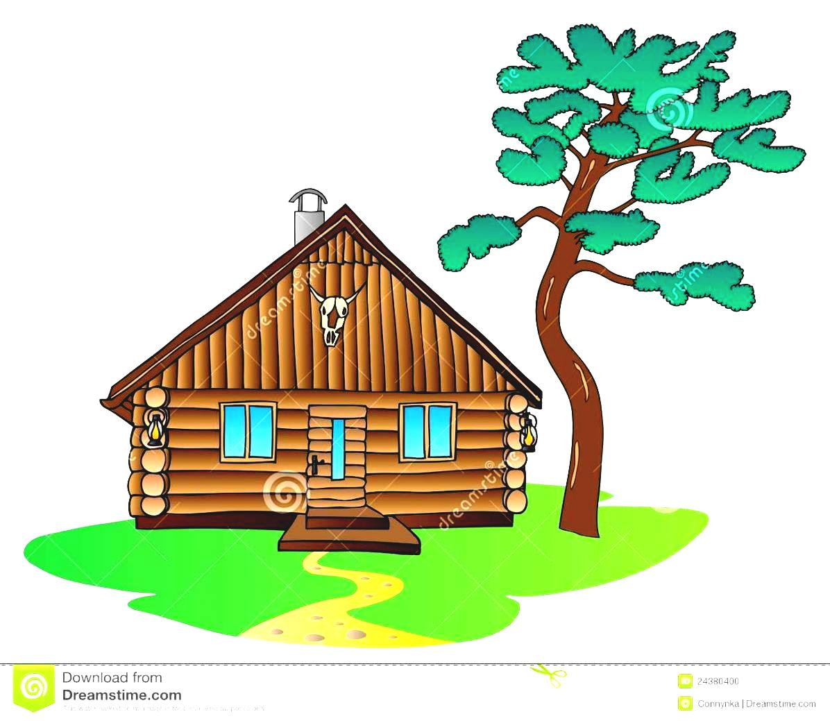 Pine Tree clipart real Clip Free Cabin Clip Images