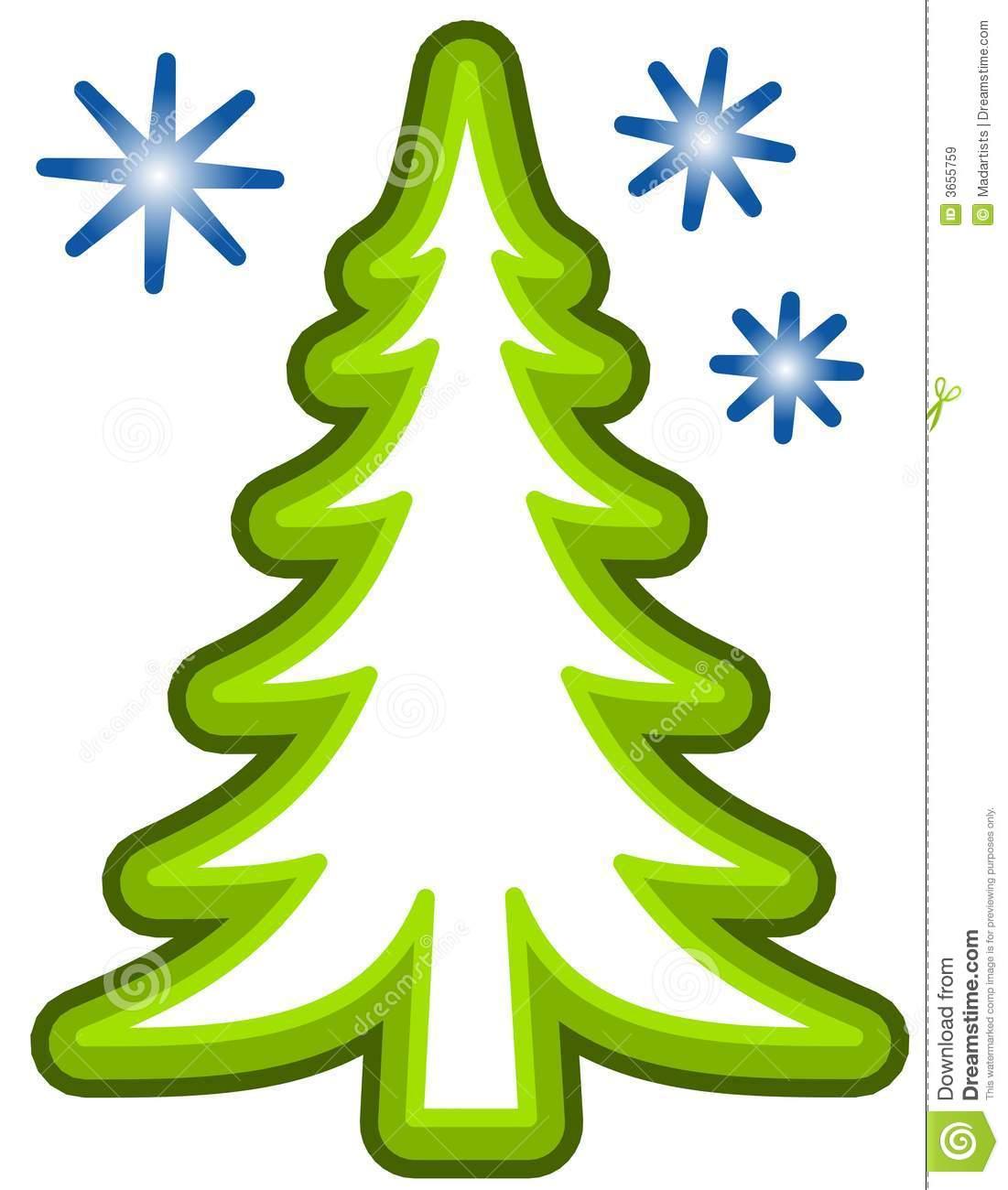Christmas Tree clipart simple Tree Art pine Christmas Clip