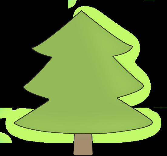Pine clipart transparent Black collection clipart Simple Trees