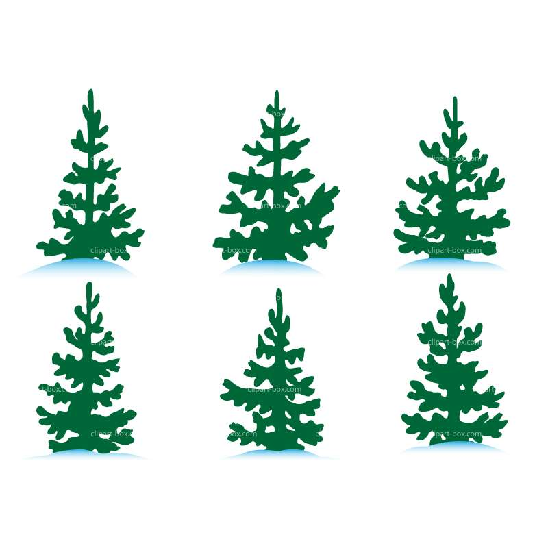 Wilderness clipart tress TREES Royalty vector PINE картинки