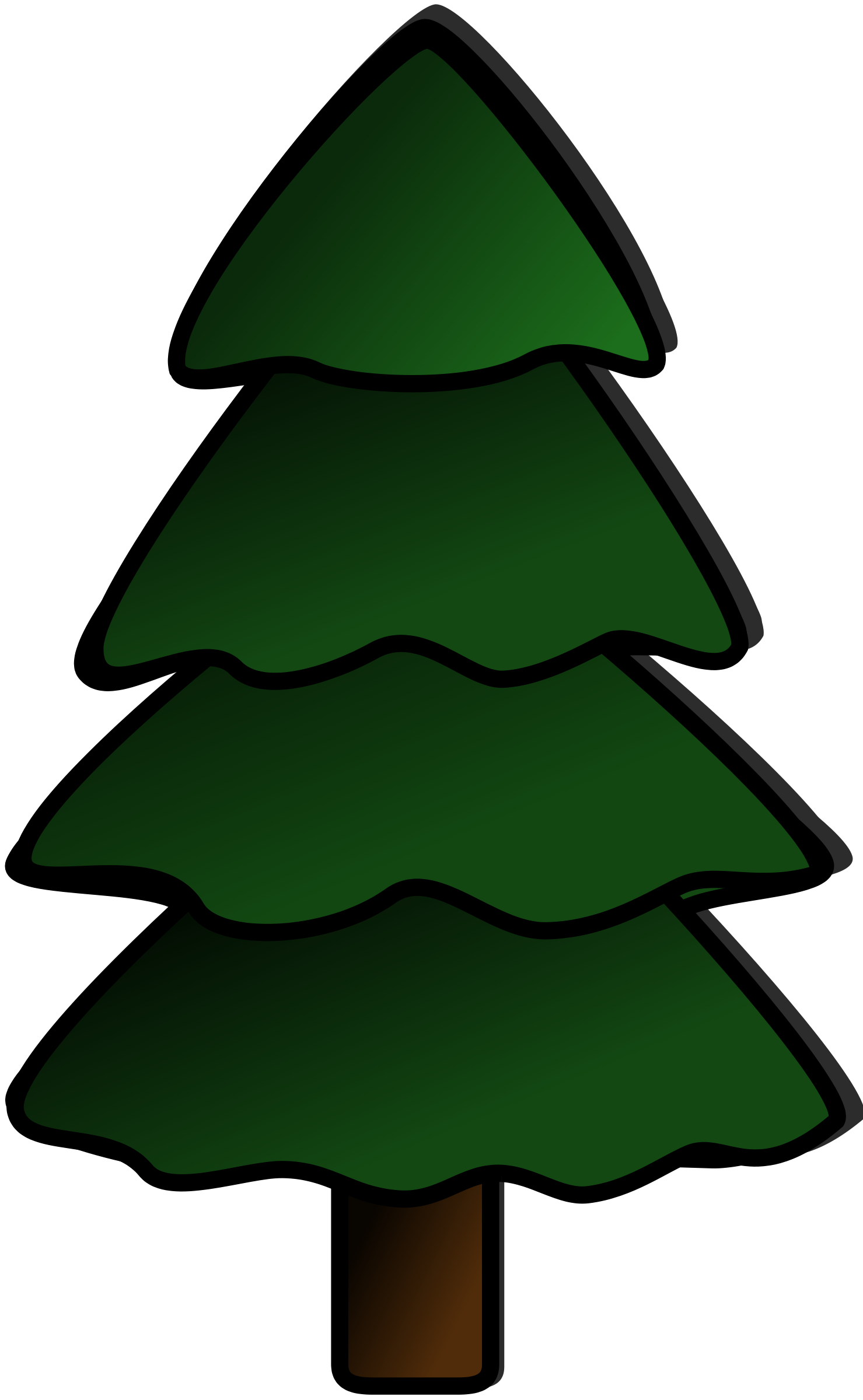Wilderness clipart tress Art Pine tree Clip Collection