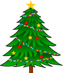 Background clipart christmas tree Art Tree clipart tree Free