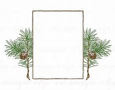 Pine Tree clipart tree border Colored hand and Pine Pine