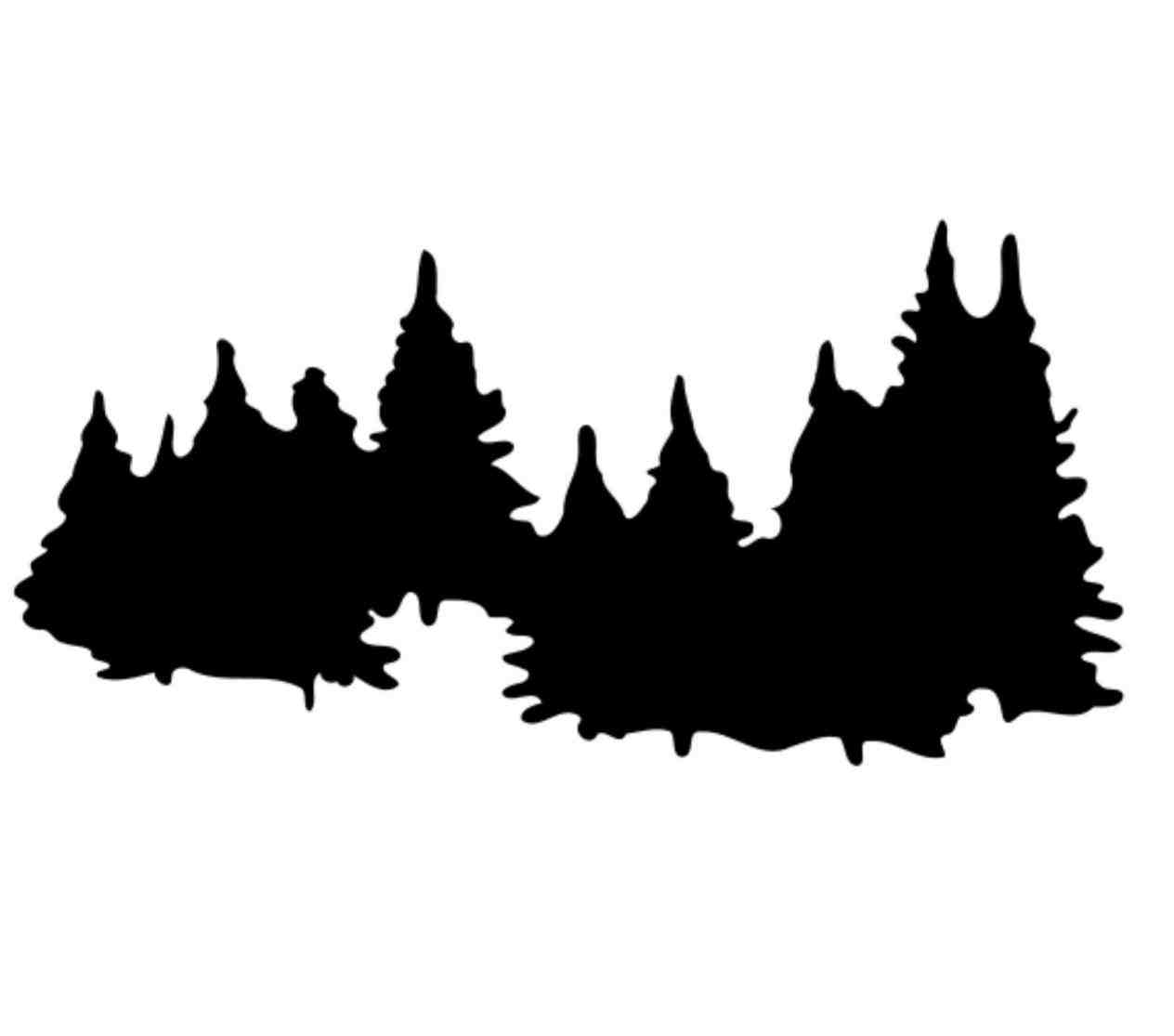 Pine clipart treee Cliparting clip Pine silhouette clip