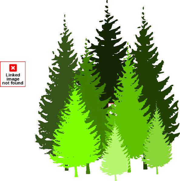 Pine Tree clipart tree silhouette Trees tree pine pine tree
