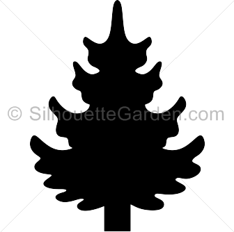Pine Tree clipart tree silhouette Pine Silhouette Tree Tree Silhouette