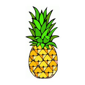 Pineapple clipart pop art Images free Clipartix clipartwiz Pineapple