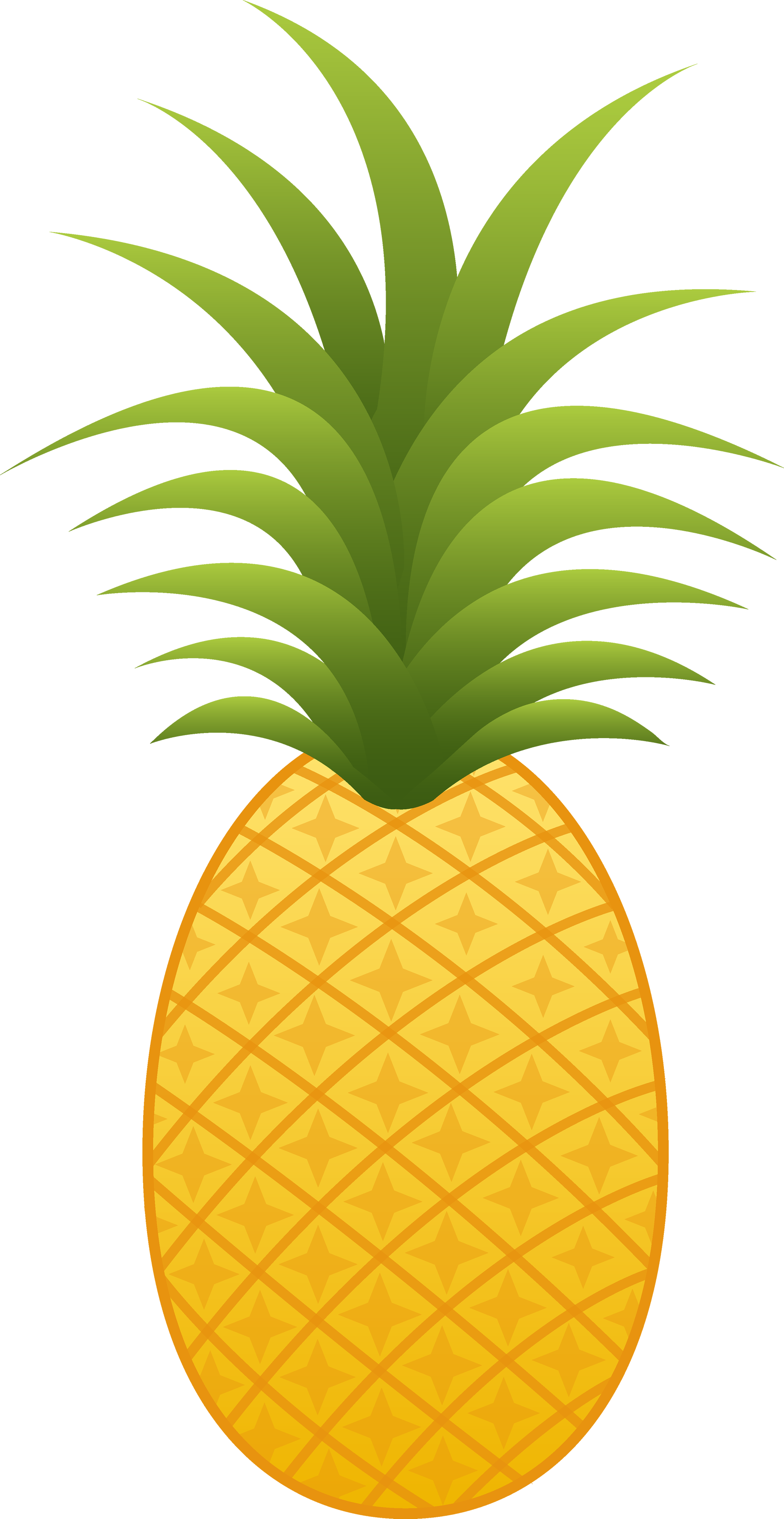 Cartoon clipart pineapple 47 images clipart clip Clipart