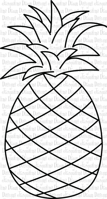 Pineapple clipart eye Pineapple Google clipart black and