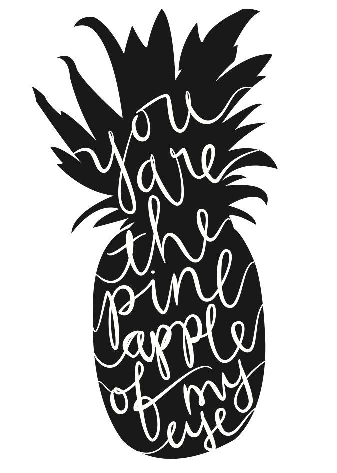 Pineapple clipart eye Loveliness Much ★: Loved It