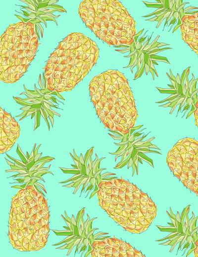 Pineapple clipart eye Of Eye My Eye Art
