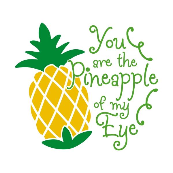 Pineapple clipart eye My  Eye to Design