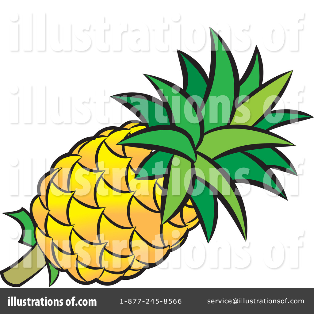 Pineapple clipart fruite Perera Clipart #100331 Lal by