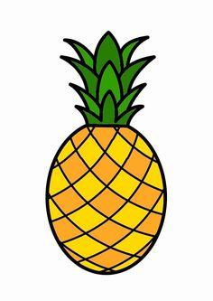 Pineapple clipart fruite (300×300) imprimer Nature Ananas