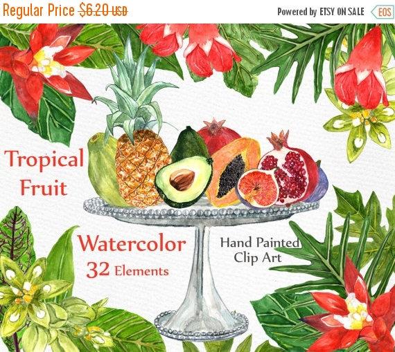 Pineapple clipart fruite Leaves fruit 30%