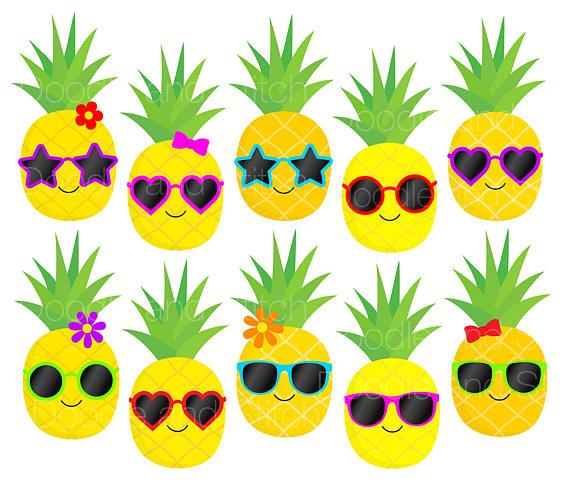 Pineapple clipart fruite File Clip Pictures Art digital