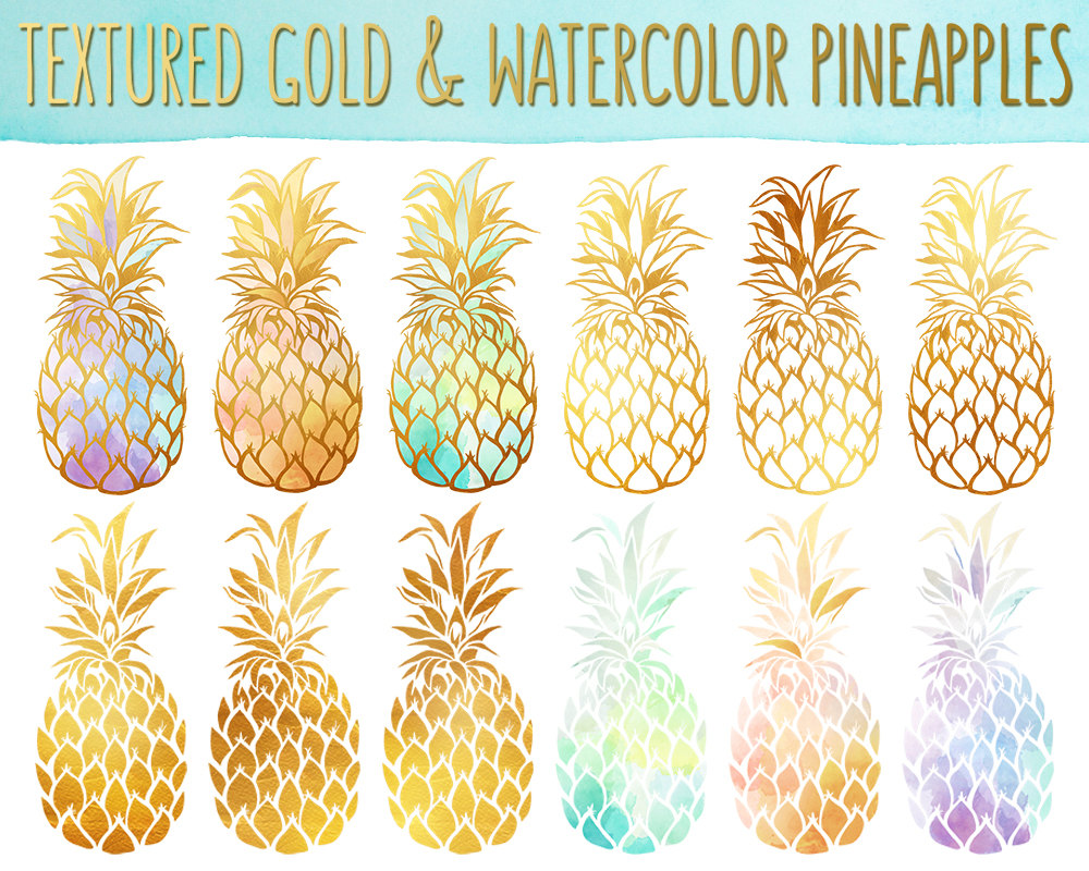 Texture clipart pineapple #1