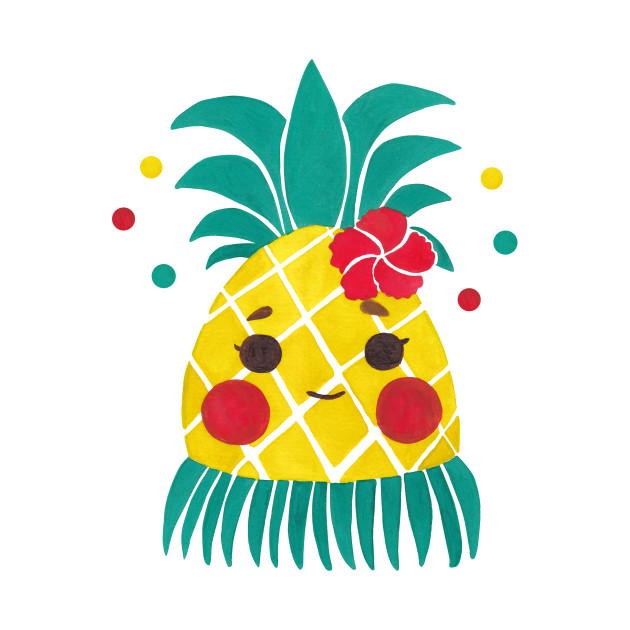 Pineapple clipart hawaiian TeePublic Shirt Pineapple 175264 Children