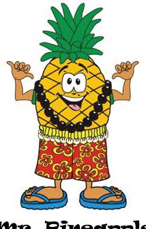 Pineapple clipart hawaiian Pineapple Mr Gold Receive Pineapple
