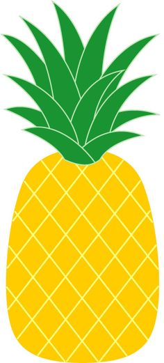 Pineapple clipart kawaii Clipart simple Pineapple