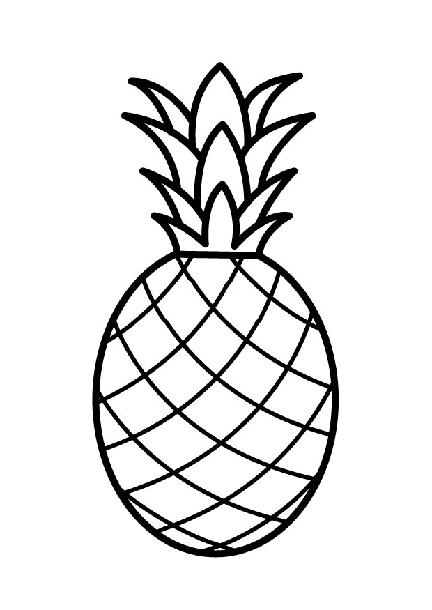 Color clipart pineapple Clip Free Art  on