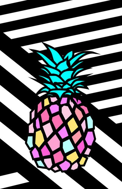 Pineapple clipart pop art On pineapple pop Best 25+