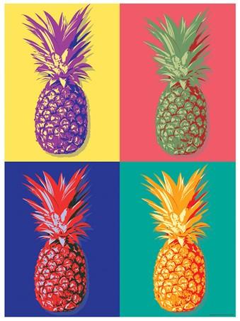 Pineapple clipart pop art Pineapple Pop Buy Online Poster