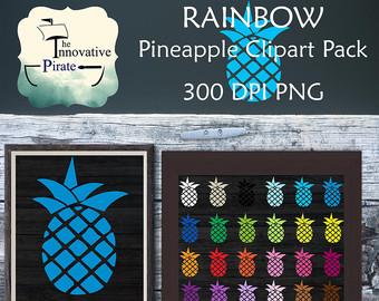 Pineapple clipart rose apple Art pineapple tags Clipart apple