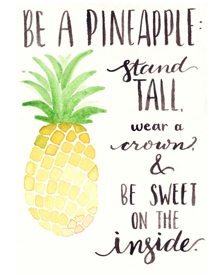 Pineapple clipart rose apple 25+ A One Printable: Closer