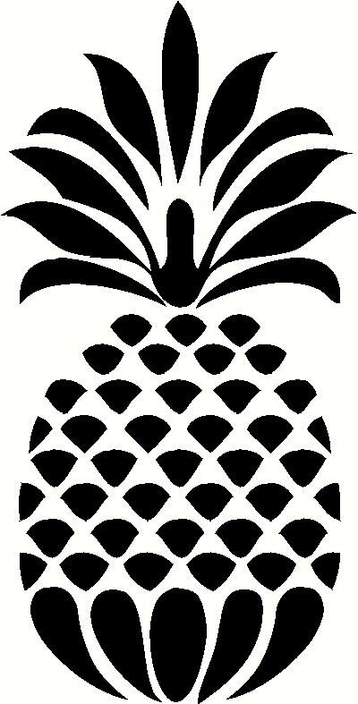 Amd clipart pineapple Decorative Wall ideas Decal Works