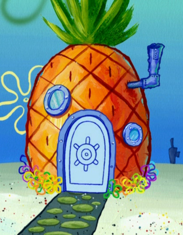 Pineapple clipart spongebobs  in Season 6 png