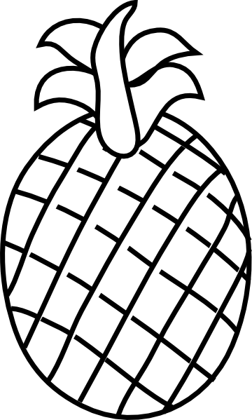 Pineapple clipart stencil Clipart Stencil Free Clipart Pineapple